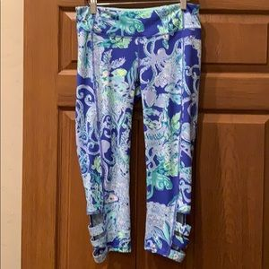 """Lilly Pulitzer 21"""" Weekender Cropped Legging"""